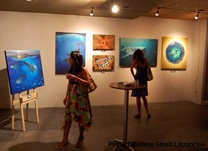 Art exhibition at Pacifico Retail Village Center